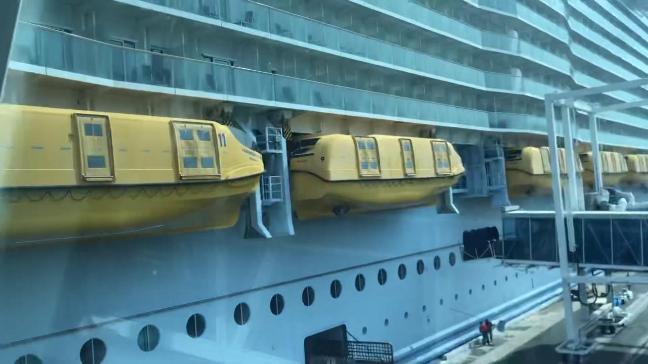 Boarding Harmony Of The Seas - Royal Caribbean  Port Canaveral