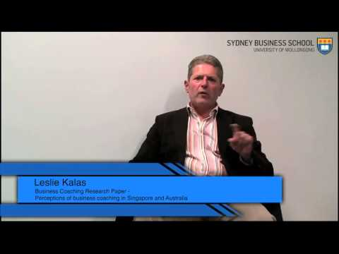 Perceptions of Business Coaching in Singapore and Australia - Sydney Business School