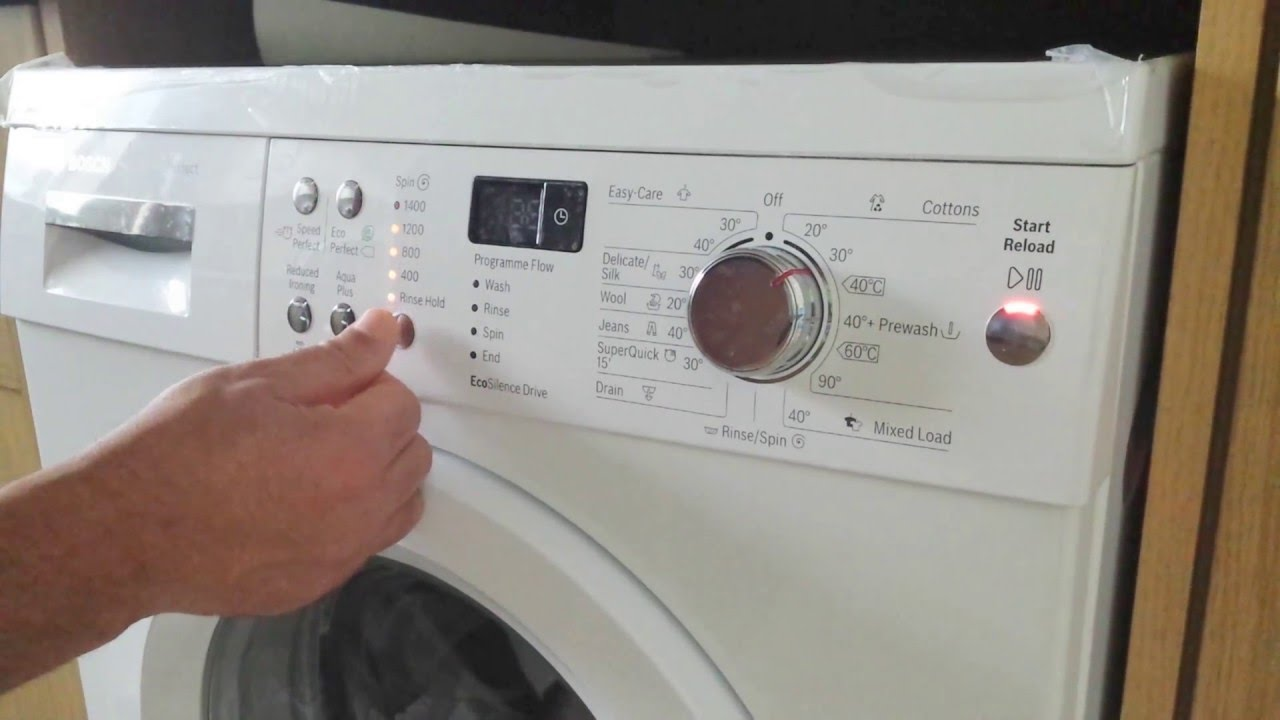 bosch stop alarm beep bleep varioperfect washing machine rh youtube com