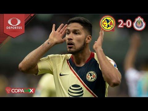 América con boleto a Semifinales | América 2 - 0 Chivas | Copa MX - Cuartos | Televisa Deportes