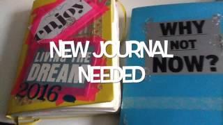 bujo bullet journal november january 2017 preparation