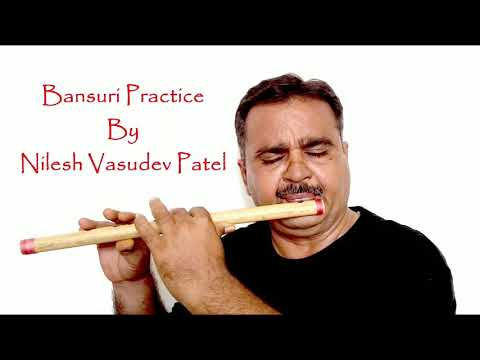 Bansuri ( Flute ) Practice - Song : Kiska Rasta Dekhe