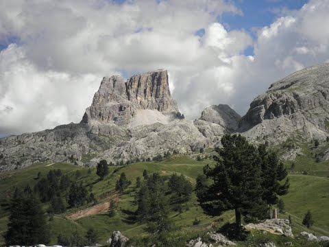 Dolomites From Falzarego Passo to  Bolzano