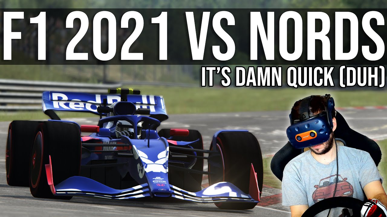 How Fast Can A 2021 Formula 1 Car Lap The Nordschleife