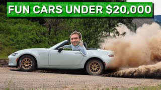 homepage tile video photo for Here Are My 10 Favorite Cool Cars for Under $20,000