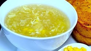 CHICKEN CORN SOUP *COOK WITH FAIZA*