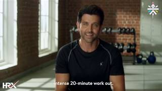 20-Minute Strength HRX Workout Curated by Hrithik Roshan - Cult.Fit