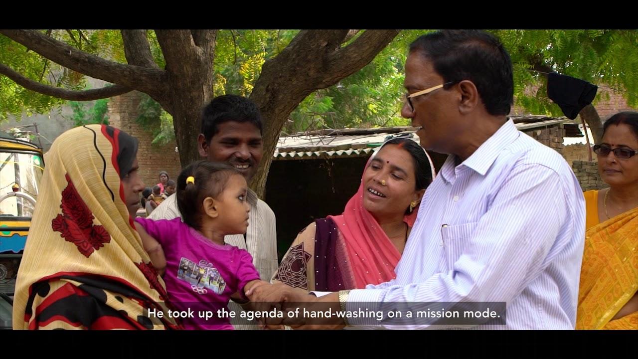 Leadership of CDO towards ODF, Sant Ravidas Nagar district, Uttar Pradesh, India