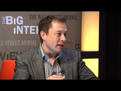 Elon Musk Interview on Tesla Motors, Future of Electric Cars and Energy