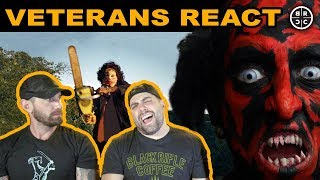 Veterans React to SCARY Movies: EP03