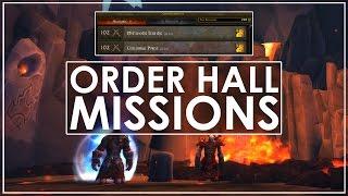 "WoW Legion: Class Order Campaigns - ""Garrison Missions Strike Back!"""