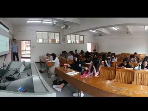 Chinese students studying German in GDUFS - Workshop in China Guangdong University