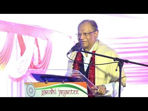 [Gandhi Jayanti 2018] Dr. Navin Ramgoolam à Laventure