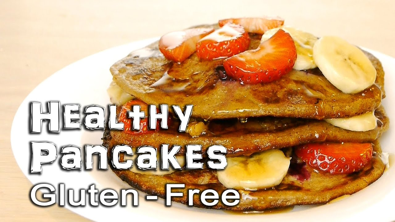 Healthy Pancakes  Gluten-Free and Vegan