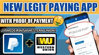 $5 MINIMUM PAYOUT! NEW LEGIT PAYING APP| EARN PAYPAL MONEY WITH PROOF! PWEDE RIN SA (WESTERN UNION)