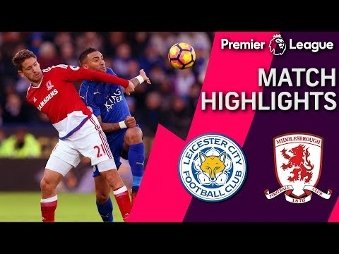 Leicester City draws Middlesbrough off Islam Slimani's penalty shot goal
