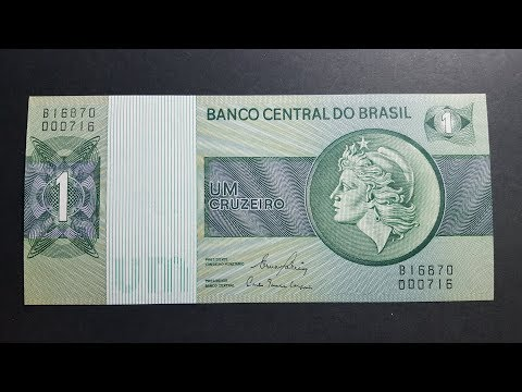 Brazil's Simple But Effective Banknote Design