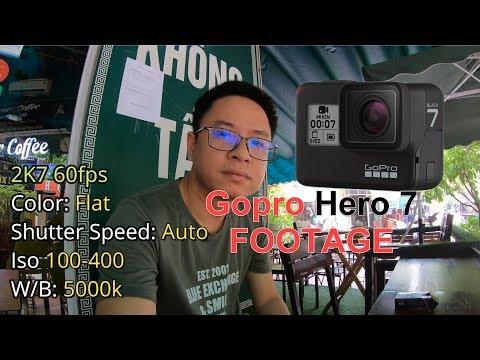 Gopro Hero 7 Black Example Footage - My Settings