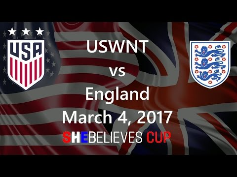 USWNT vs England March 4, 2017