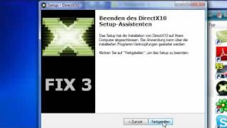 Tutorial #1 - DirectX 10 Installation (German)