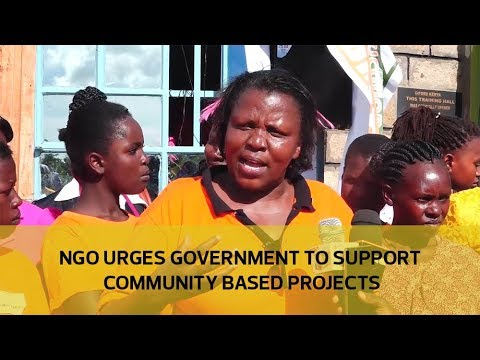 NGO urges government to support community based projects