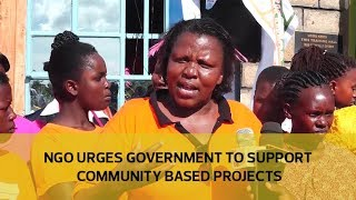 NGO urges government to support community based projects thumbnail