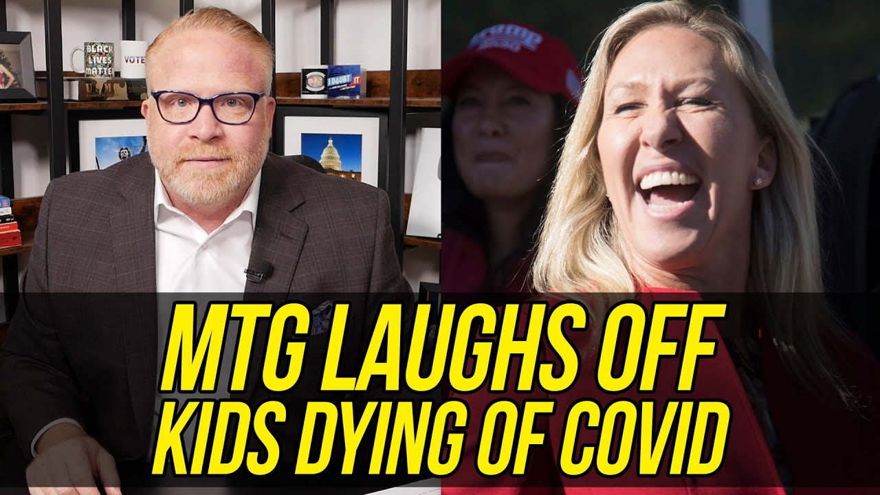 UNHINGED Marjorie Taylor Greene Gives OFF THE RAILS Press Conference!