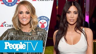 Carrie Underwood Reveals Face After Accident, Kim K Shares First Ever Full Family Photo | PeopleTV