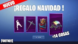 Ce sont TOUS LES CHRISTMAS GIFTS (NEW FORTNITE EVENT) Free Skins