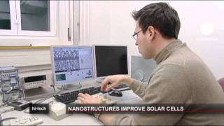 euronews hi-tech – الواح شمسية بتقنية النانو