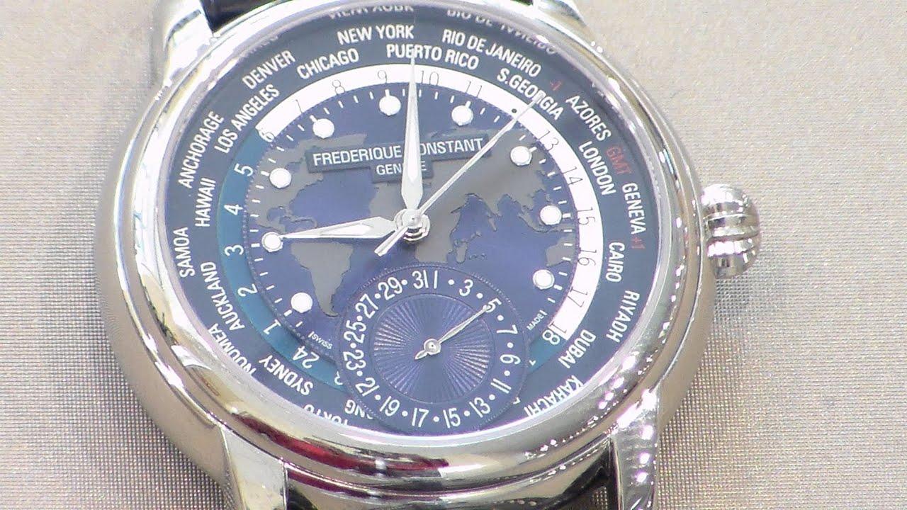 Frederique Constant Manufacture Worldtimer Watch Review ...