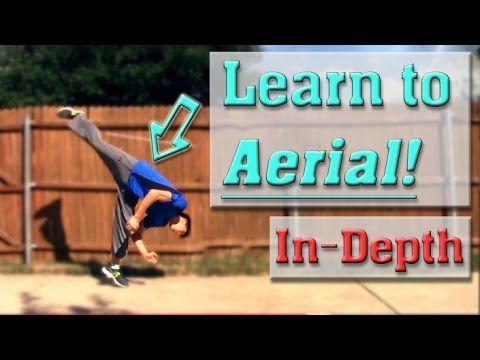 How to do an Aerial / Handless Cartwheel Tutorial