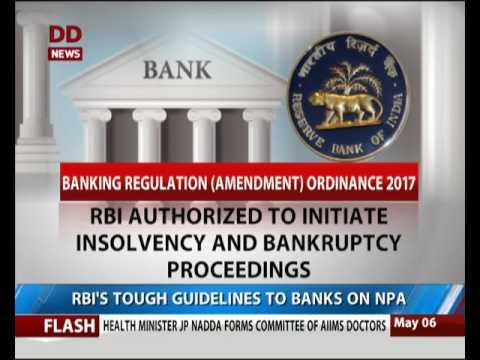 RBI's tough guidelines to banks on NPA