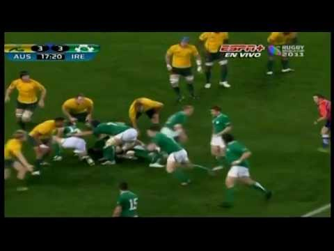 Jonathan Sexton drop goal vs Australia
