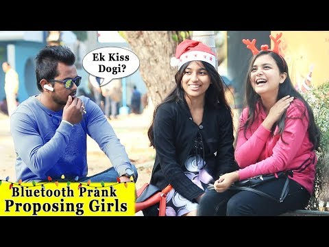 Bluetooth Prank Proposing Girls || Prank In India 2018 || Funday Pranks