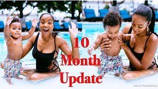 10 Month Baby Update   Potty Training   Walking   New Teeth