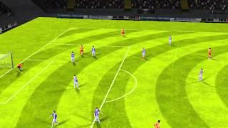 FIFA 14 iPhone/iPad - Real Valladolid vs. FC Barcelona