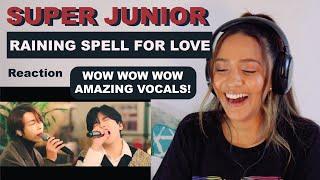 Download SUPER JUNIOR   Raining Spell for Love [Remake ver ] Live Clip   REACTION!