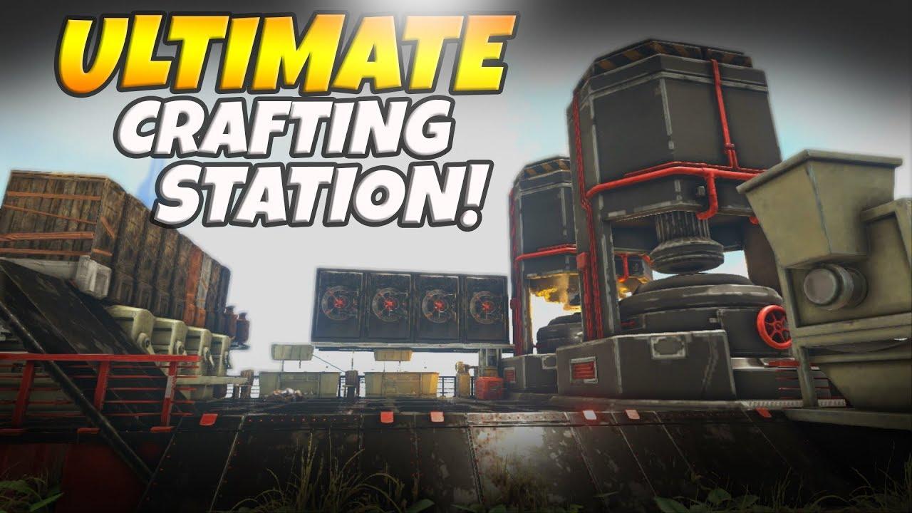 Advanced Ark Advanced Crafting Station