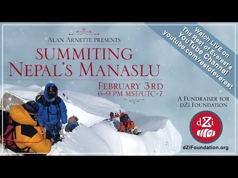 Video: Alan Arnette Presents Summiting Nepal's Manaslu