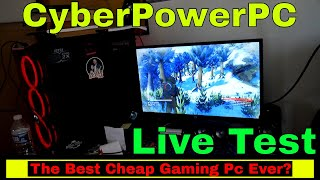 CYBERPOWERPC Gamer Xtreme GXIVR8020A4 Desktop Gaming PC Full Honest GamePlay Test & Review