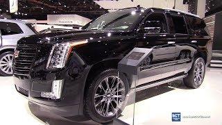 2019 Cadillac Escalade Sport Edition - Exterior and Interior Walkaround - 2019 Detroit Auto Show
