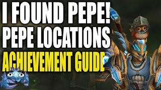 I Found Pepe! Achievement Guide - Ninja, Knight, Pirate and Viking Pepe Locations