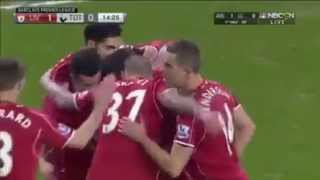Liverpool FC 3 - 2 Tottenham Hotspur 11-02-2015 All Goals & Highlights