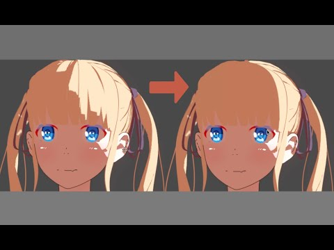 normal editing for anime characters in blender tutorial youtube