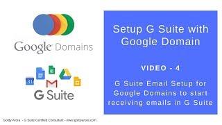 Het maken van G Suite MX-records voor Google-domeinen