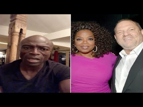 "Seal backtracks on his remarks towards Oprah~""I have an enormous amount of respect for her"""