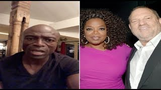 """Seal backtracks on his remarks towards Oprah~""""I have an enormous amount of respect for her"""""""