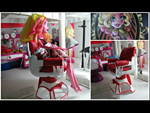 doll salon chair buy covers online india diy a styling recycle plastic bottles youtube