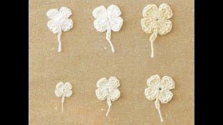 Цветы крючком самые простые Урок 18 Crochet flowers simple